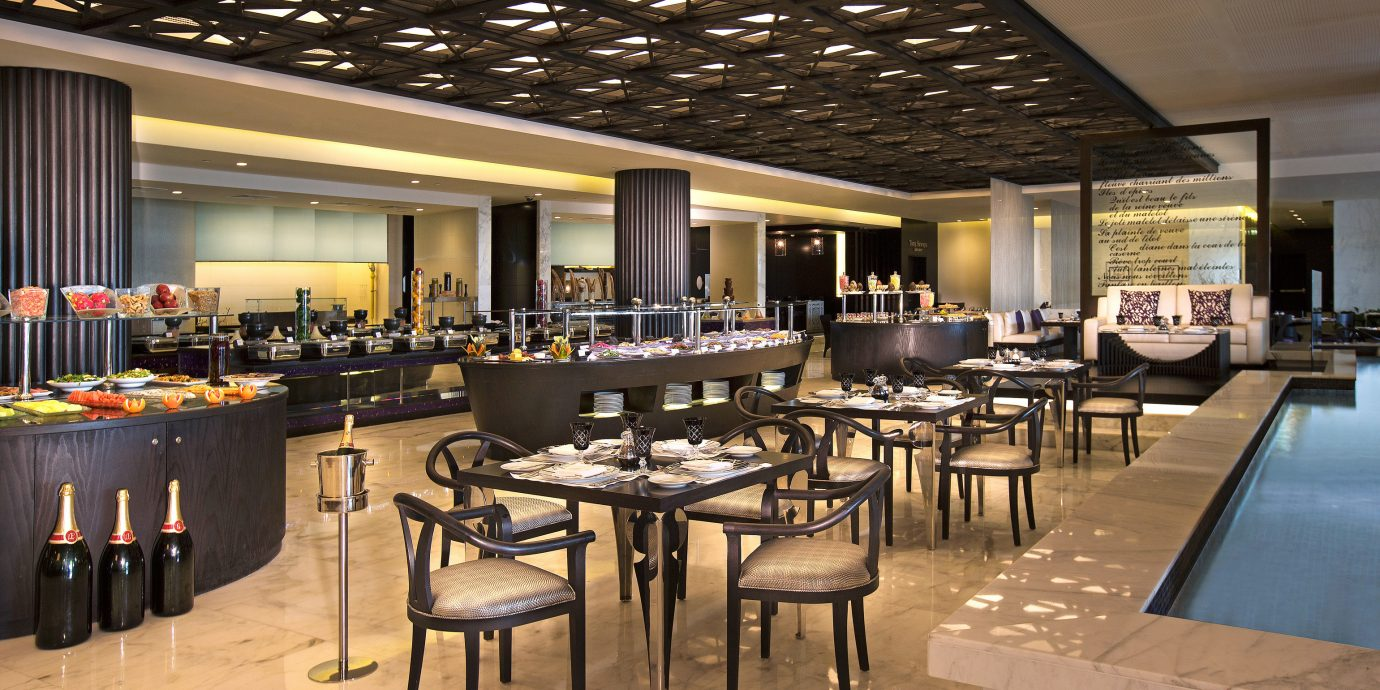 Business City Dining Modern Spa chair restaurant function hall café convention center Resort cafeteria Lobby Bar ballroom set Island