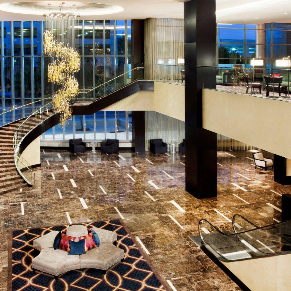 Business City Lobby Modern building counter flooring Bar restaurant condominium Island