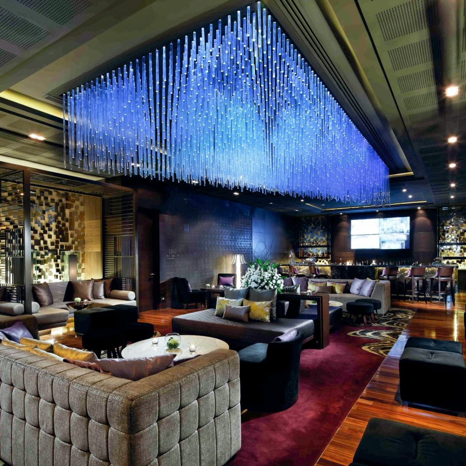 Bar Business City Landmarks Modern Nightlife Scenic views Lobby living room restaurant