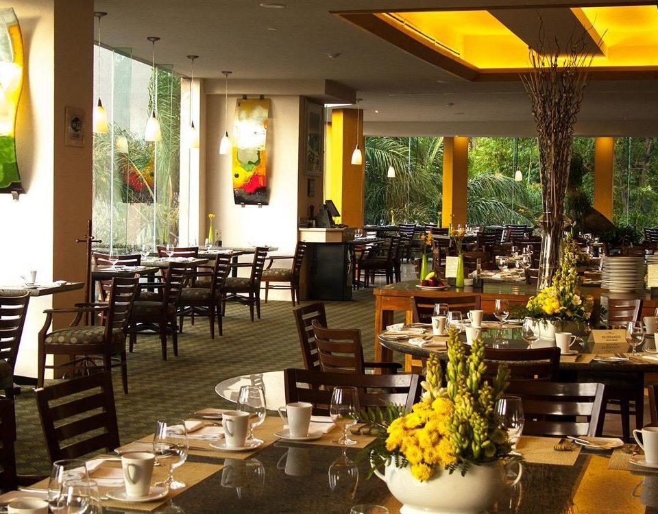 Business Dining Drink Eat Modern restaurant buffet function hall café brunch Resort Bar dining table
