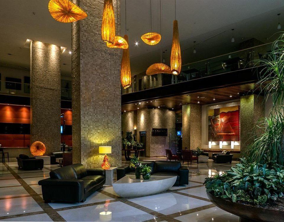 Business Modern Lobby restaurant lighting light Bar