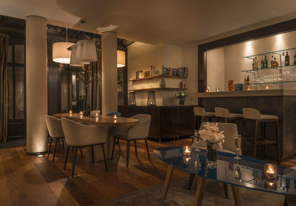 property restaurant Bar lighting home living room cabinetry