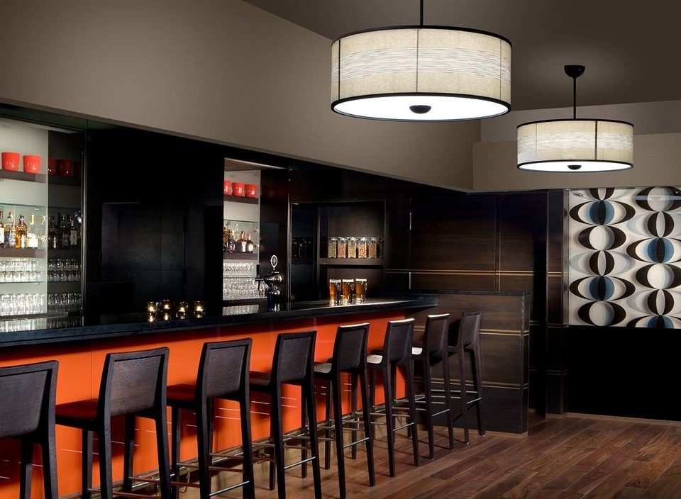 lighting Bar cabinetry