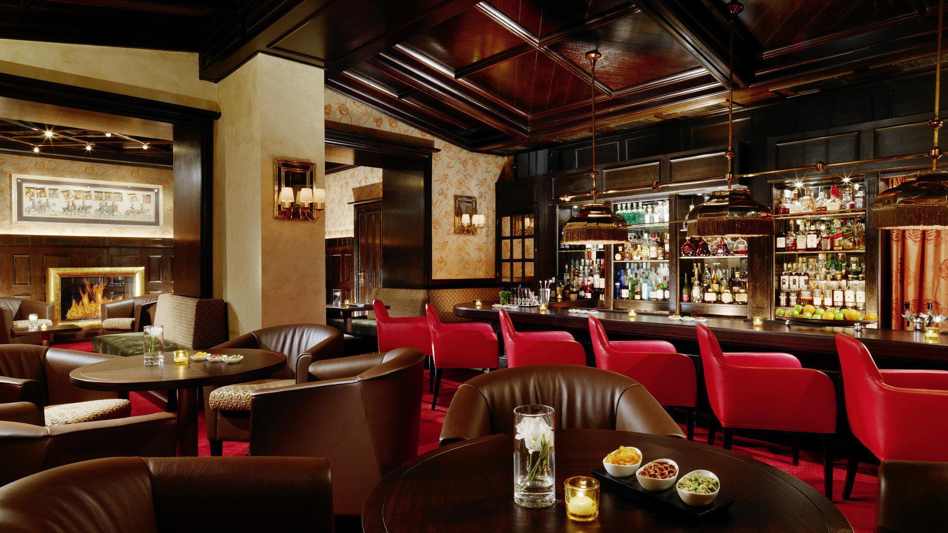 chair Bar restaurant café recreation room