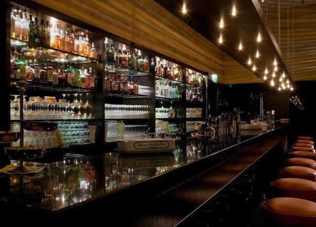 Bar liquor store café store