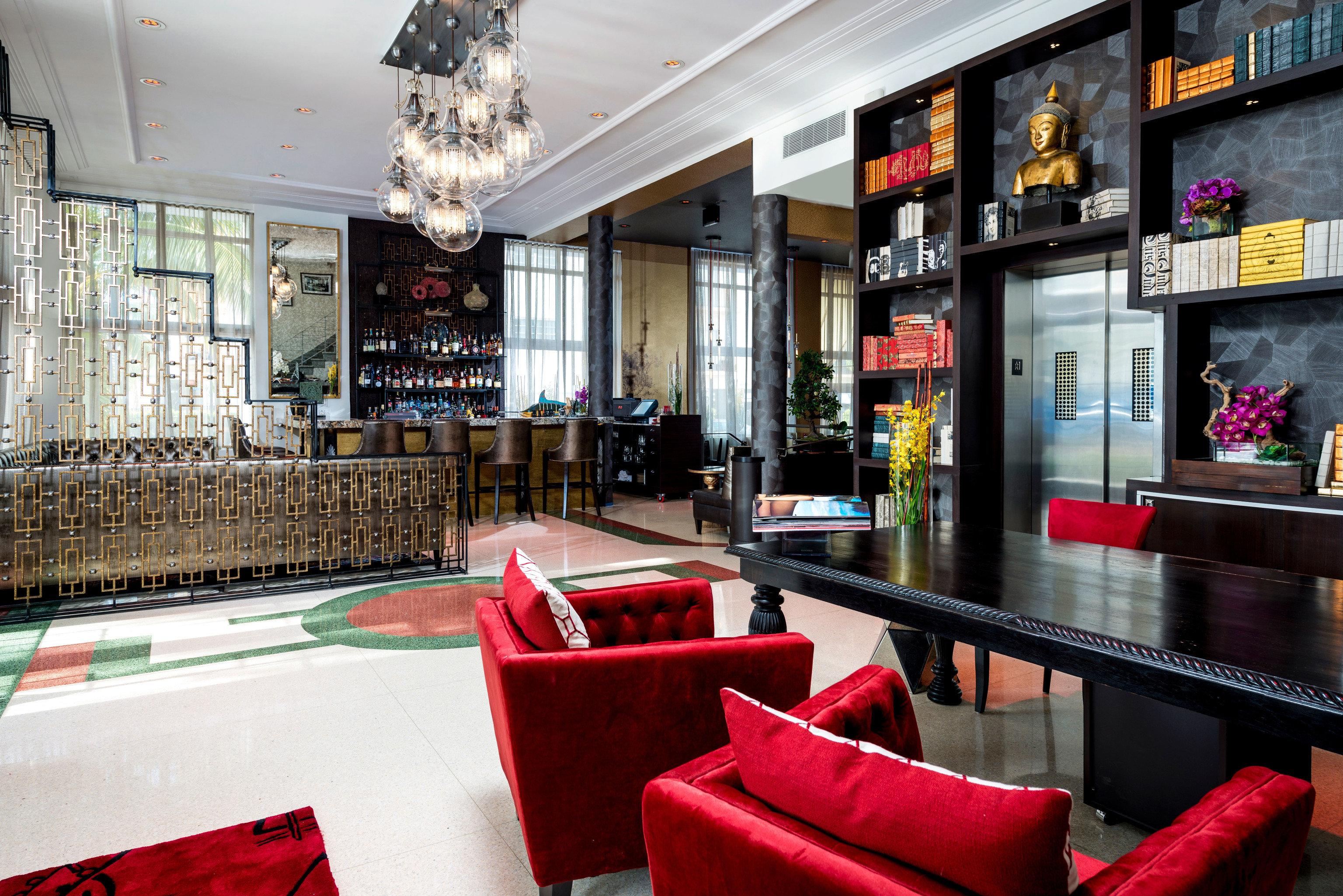 red restaurant Bar café