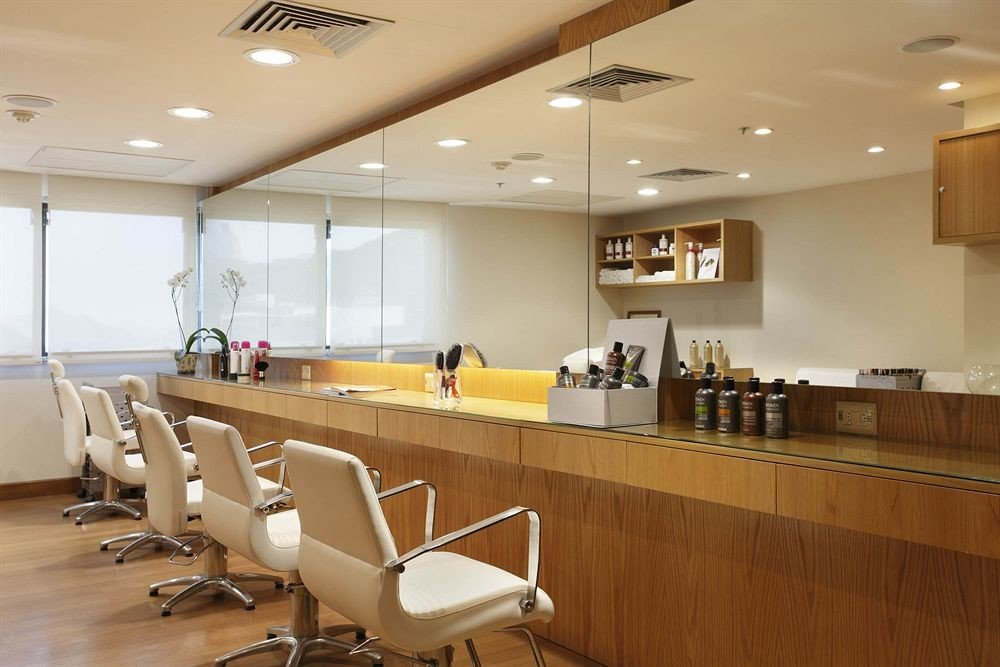 chair conference hall cafeteria function hall waiting room receptionist Bar
