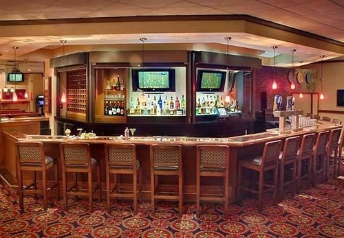 Bar recreation room billiard room building function hall Casino