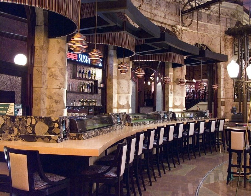 Bar Casino building restaurant tavern café dining table