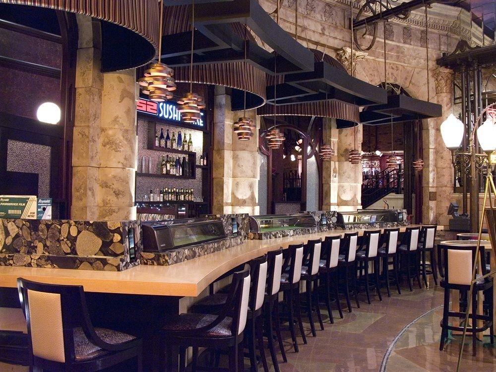 Bar Casino building restaurant tavern café dining table