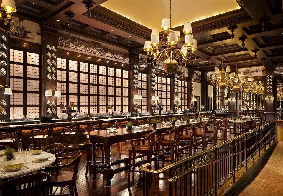 Bar Casino Dining Elegant building restaurant Winery long