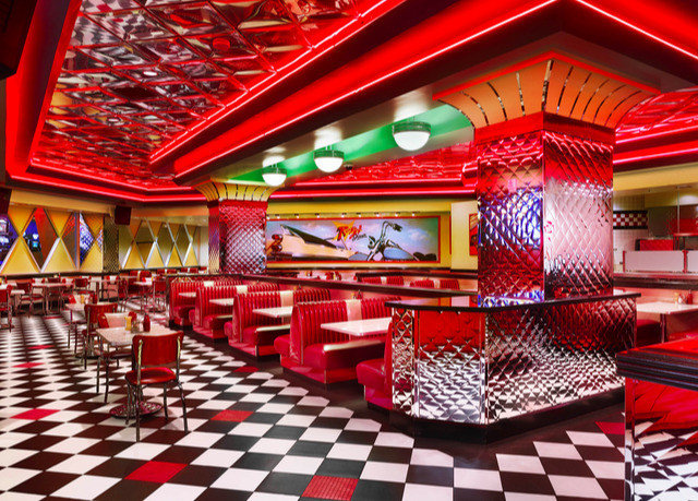 red nightclub function hall restaurant Bar Casino