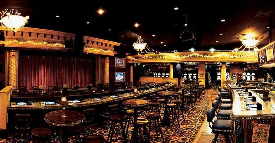 Bar function hall restaurant Casino set