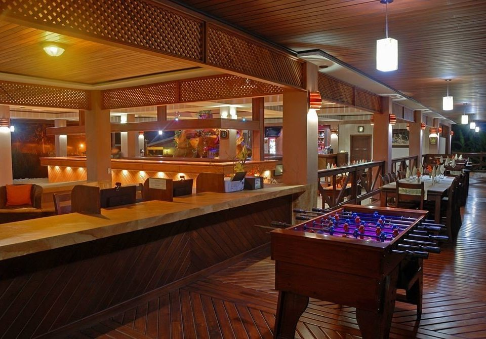 recreation room billiard room building Bar Resort function hall Lobby restaurant Casino Island