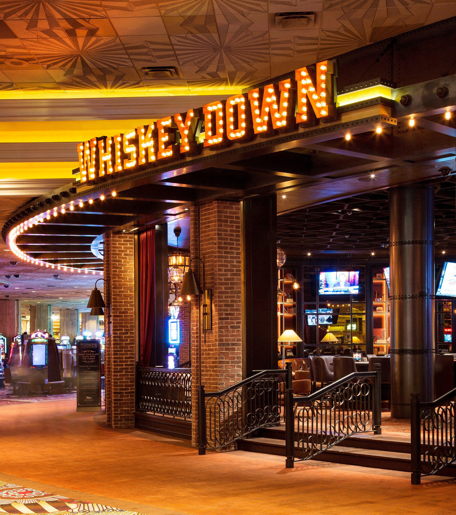 building Bar restaurant night Lobby Casino