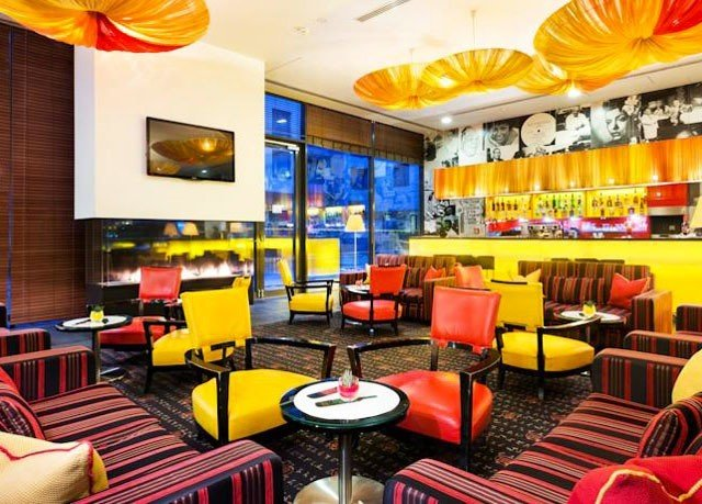 chair restaurant Bar fast food restaurant fast food function hall colorful colored