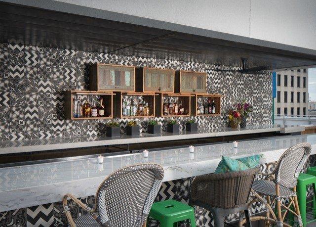 chair property condominium home Bar