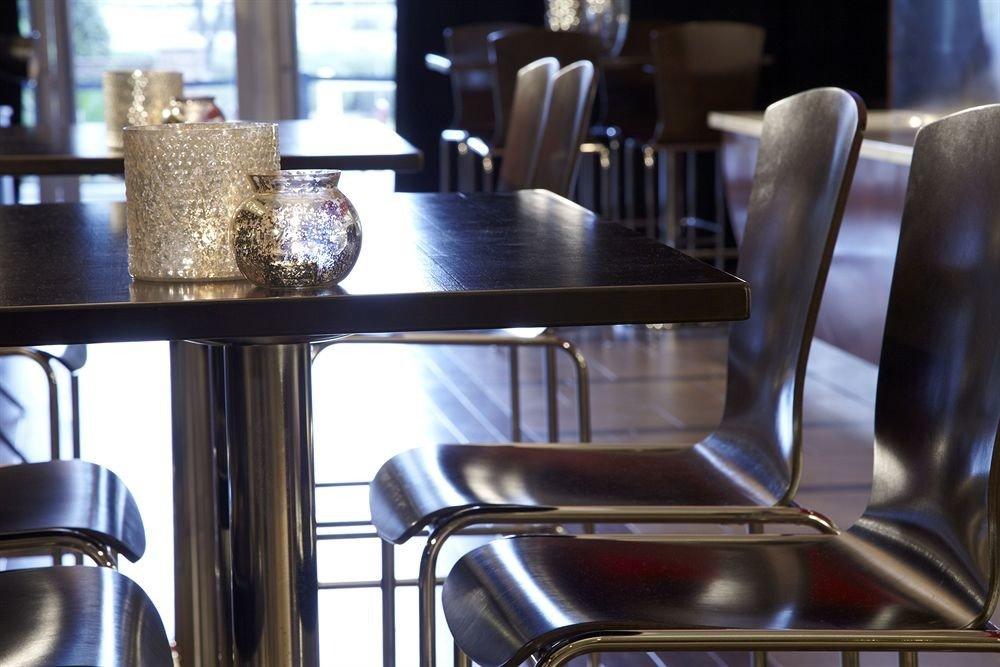 restaurant Bar chair leather dining table