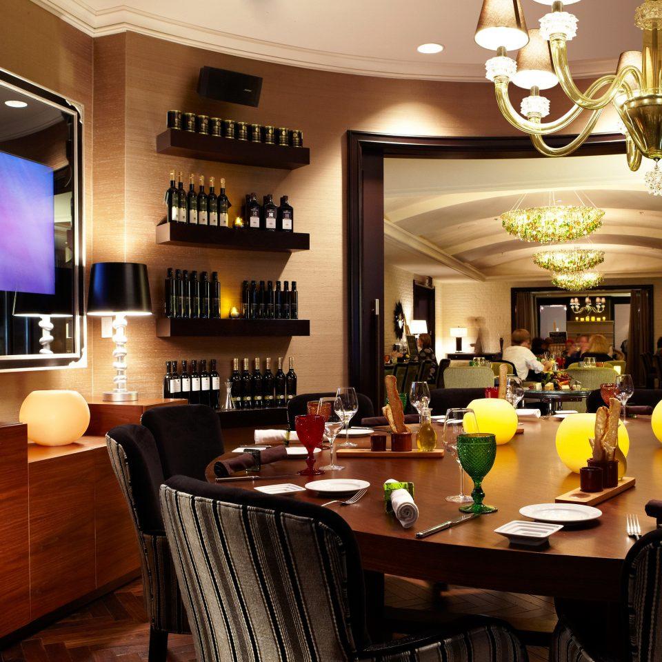 chair restaurant Bar function hall set