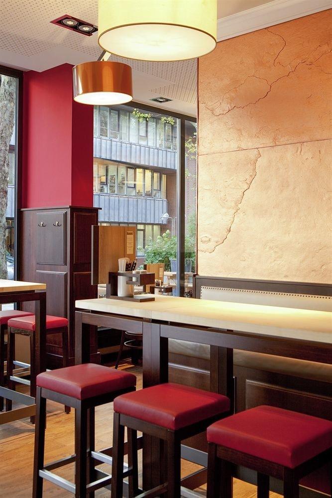chair red restaurant lighting Bar living room set