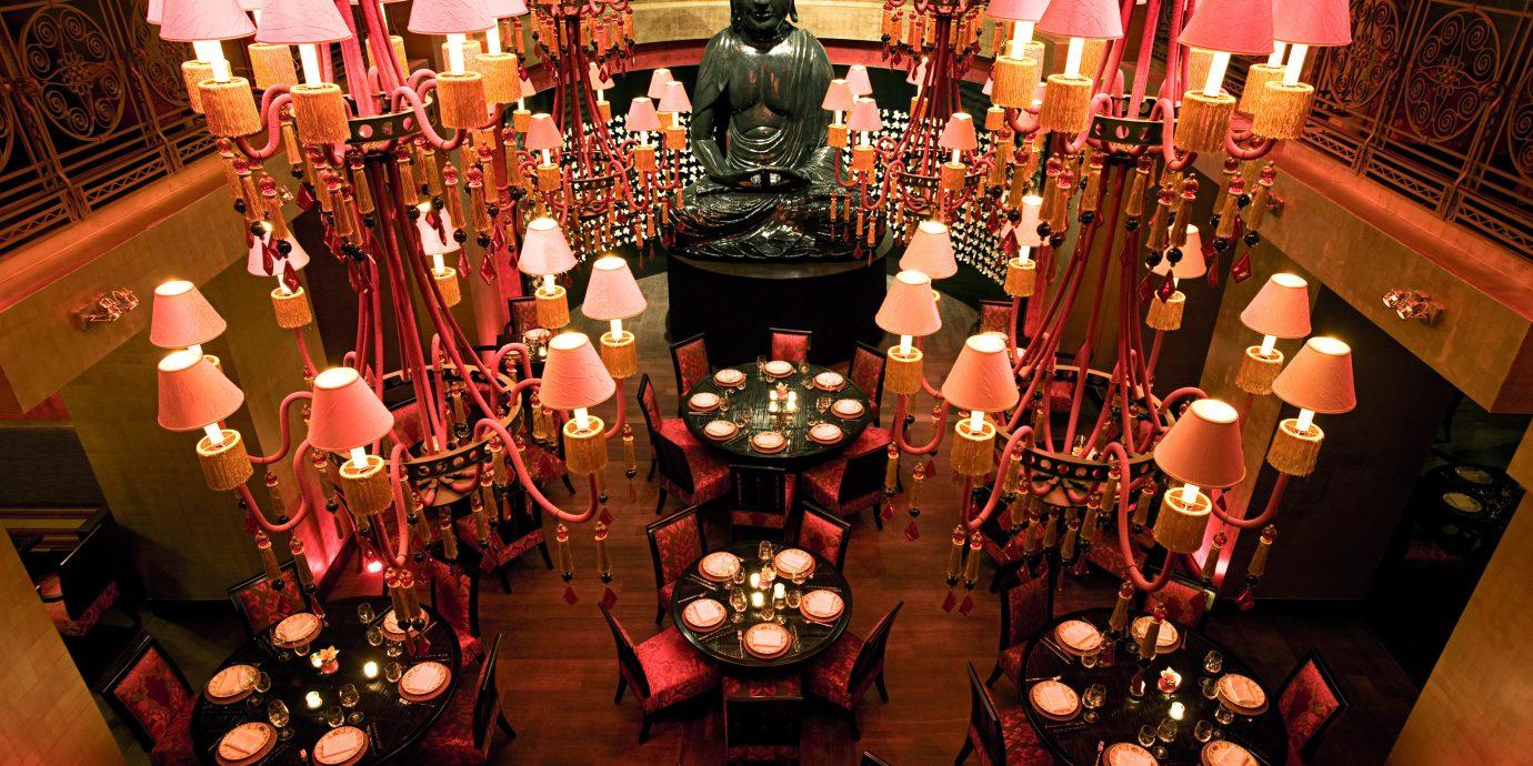 Bar Dining Drink Eat Elegant Lounge Luxury Modern lighting Christmas set cluttered