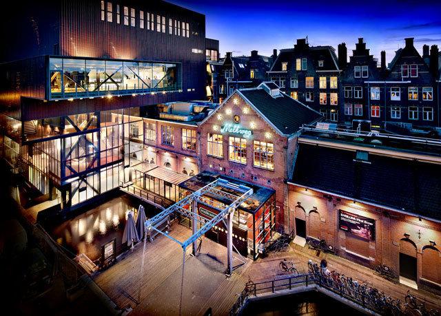metropolis night City cityscape evening stage Bar theatre