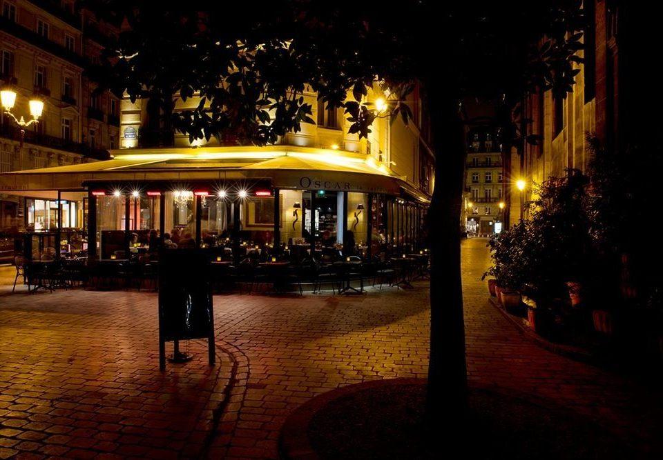 night light evening street darkness lighting City restaurant Bar dark