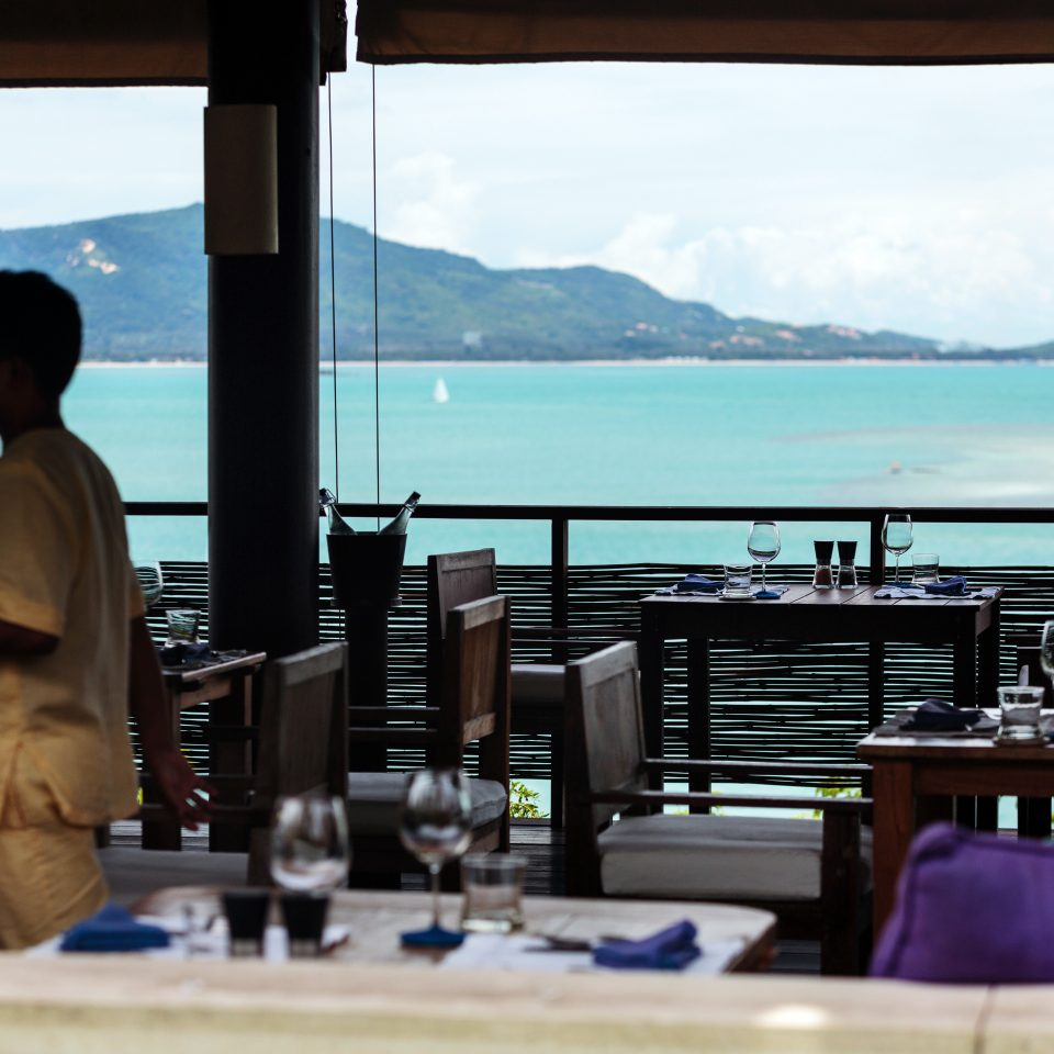 Bar City Drink Eat Lounge Ocean sky water leisure restaurant overlooking Deck shore day Island