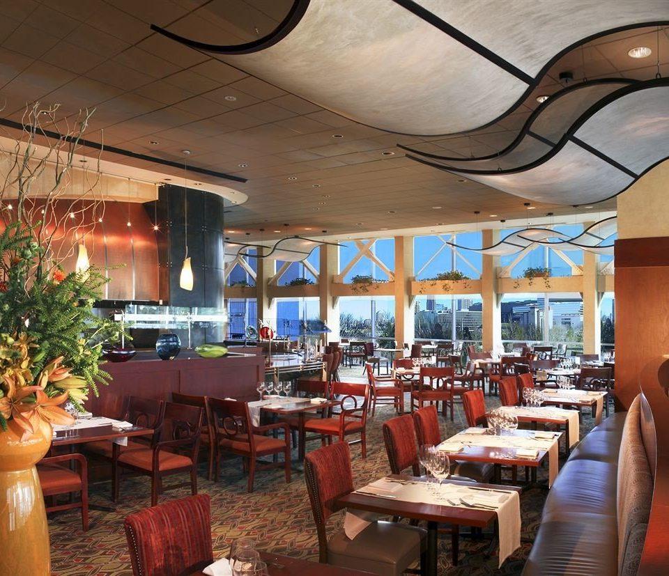 Bar City Dining Drink Eat Scenic views chair restaurant Resort Lobby function hall