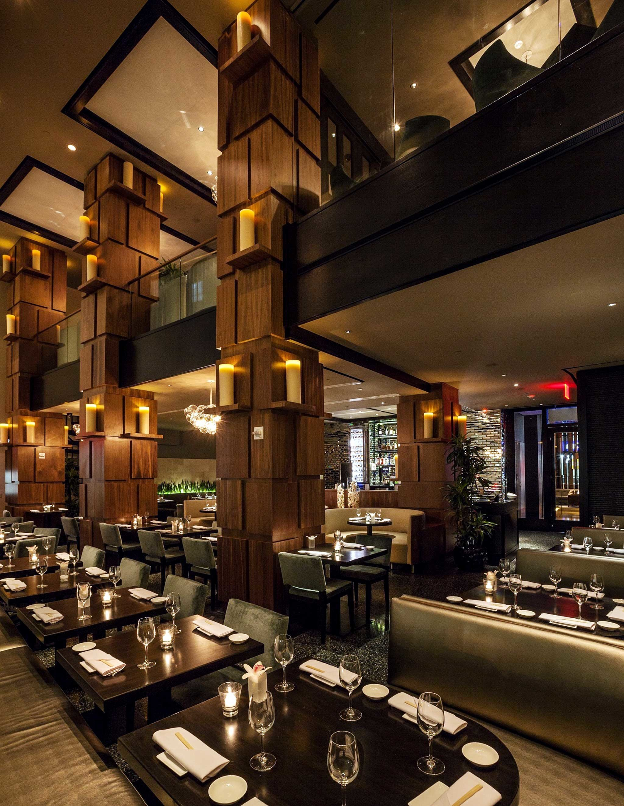 City Dining Drink Eat Elegant Luxury restaurant Lobby café Bar lighting