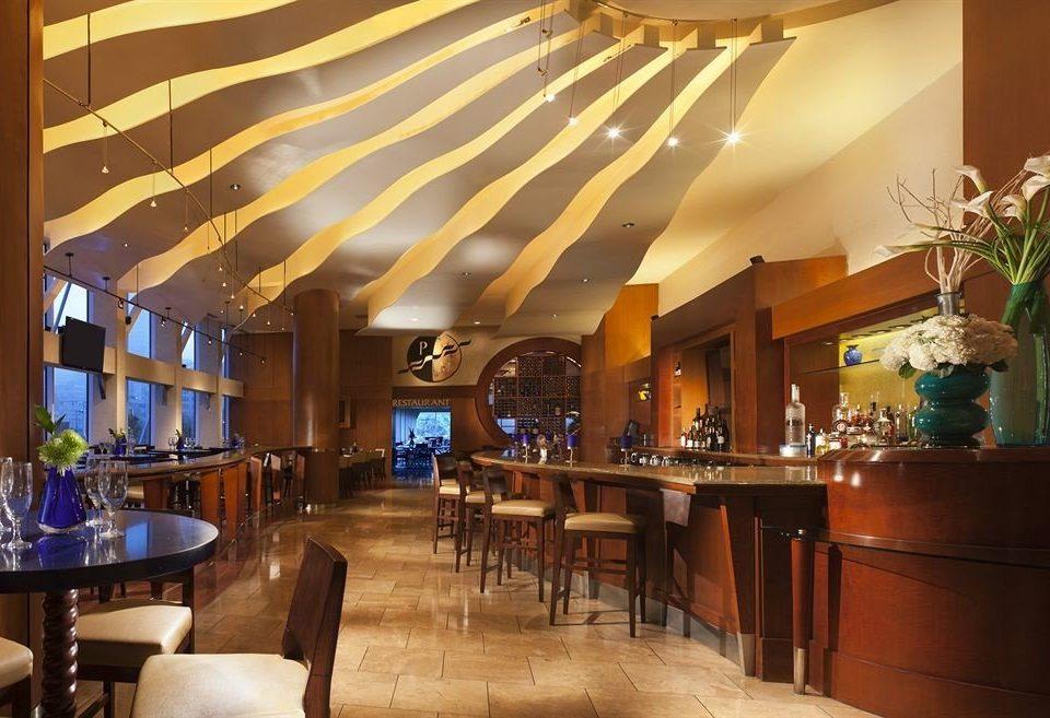 Bar City Dining Drink Eat Scenic views Lobby function hall restaurant Resort convention center ballroom