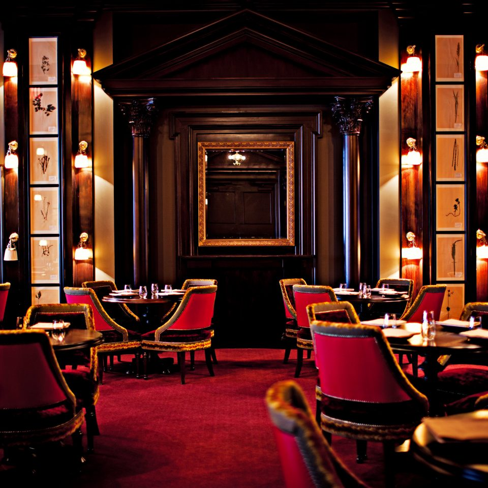 Bar City Dining Drink Eat Hip Hotels Luxury Nightlife NYC restaurant lighting lit living room night