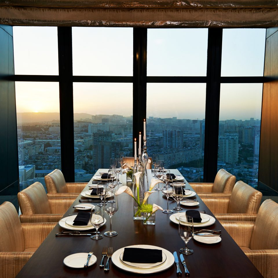 Bar City Dining Drink Eat Hip Modern Scenic views restaurant yacht Resort condominium dining table
