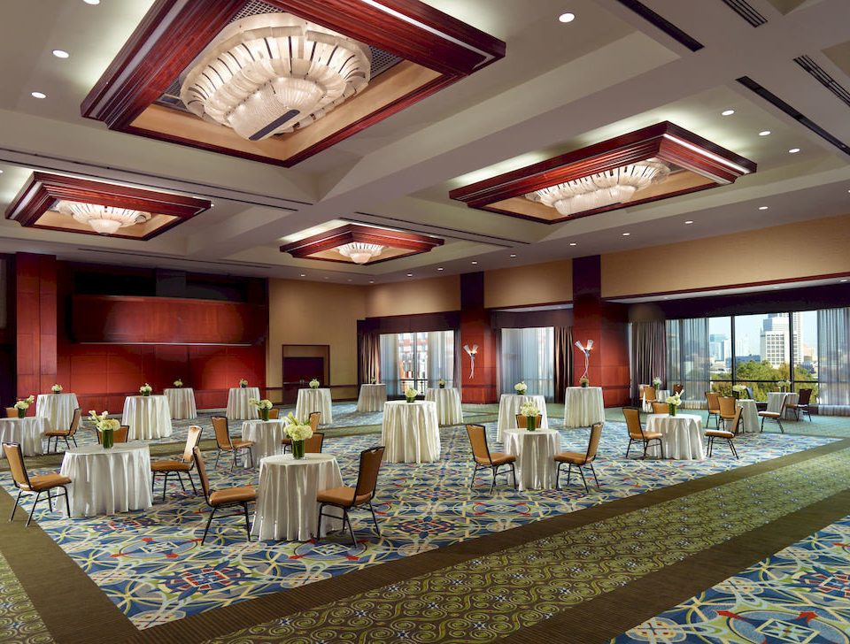 Bar City Dining Drink Eat Scenic views function hall banquet Lobby ballroom conference hall convention center auditorium aisle restaurant