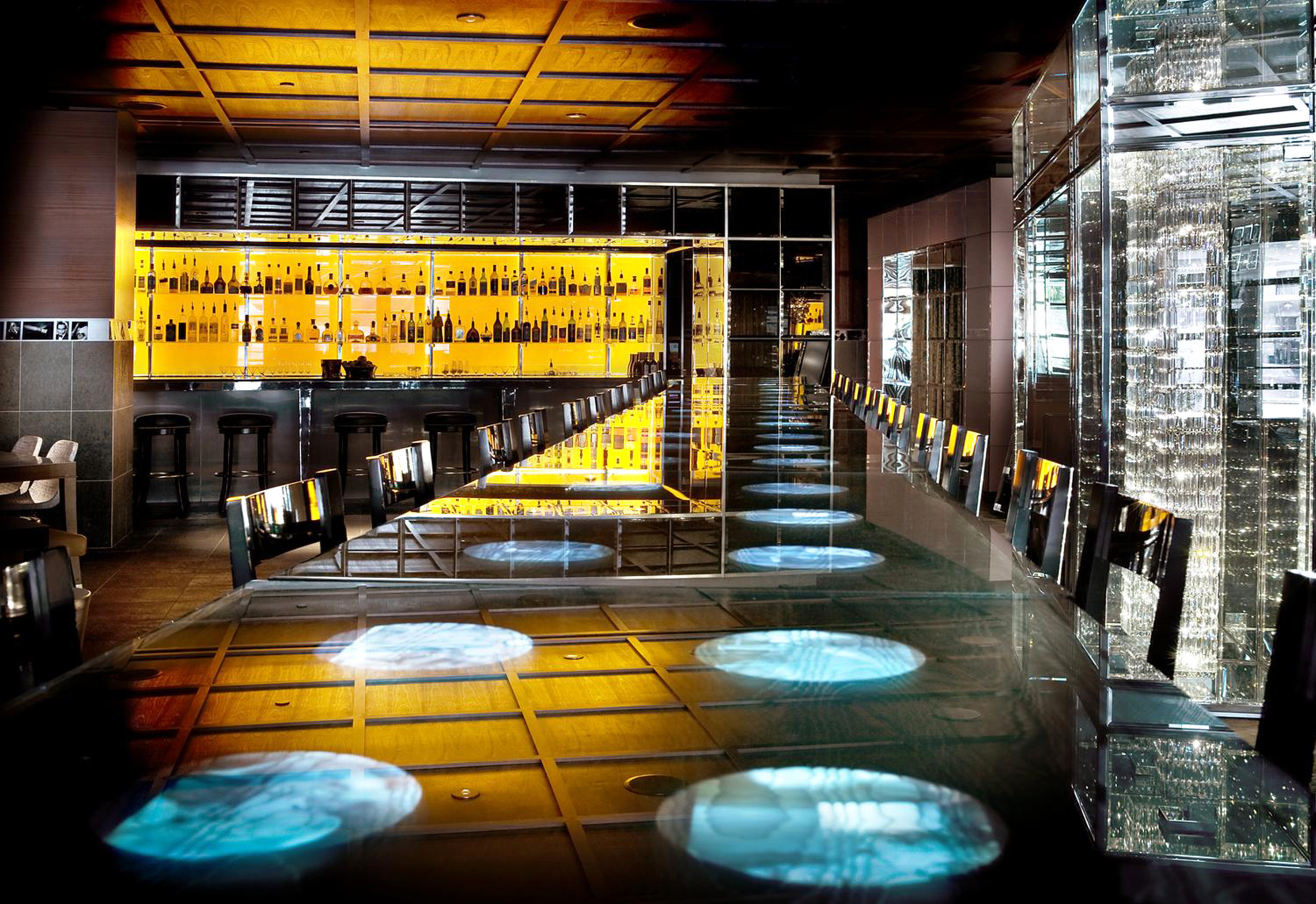 City Dining Drink Eat Lounge Modern night Lobby Bar