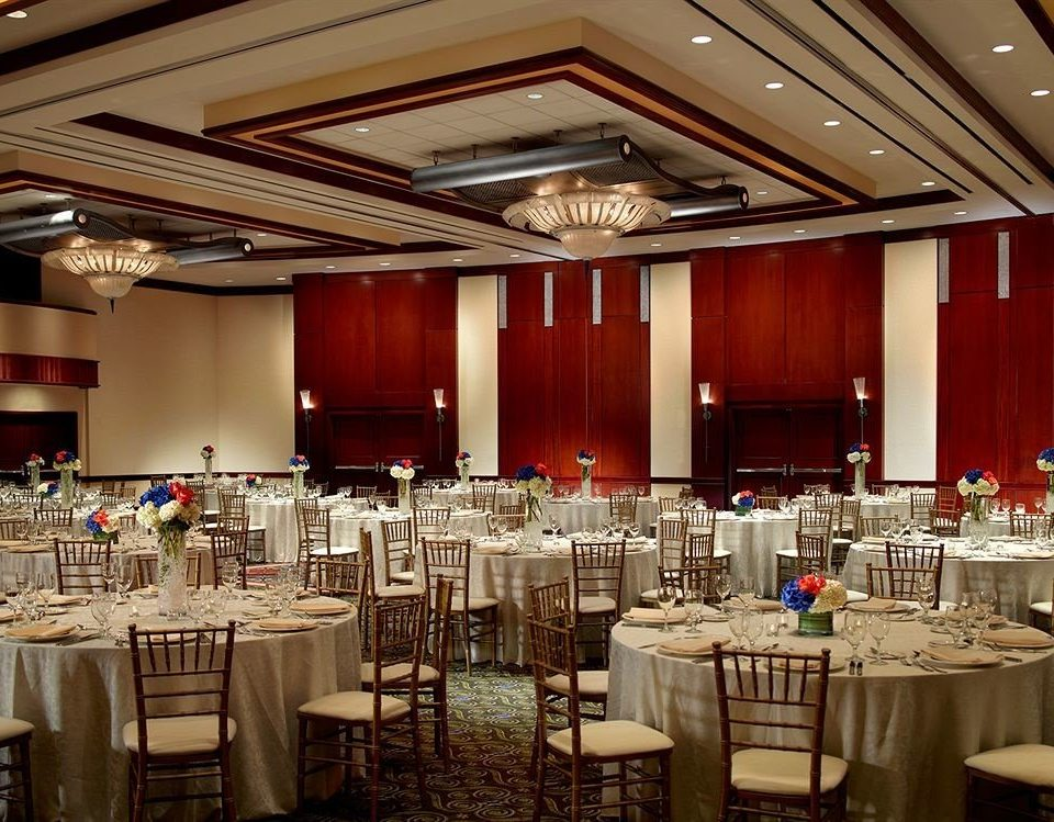 Bar City Dining Drink Eat Scenic views function hall banquet ballroom ceremony wedding wedding reception convention center conference hall
