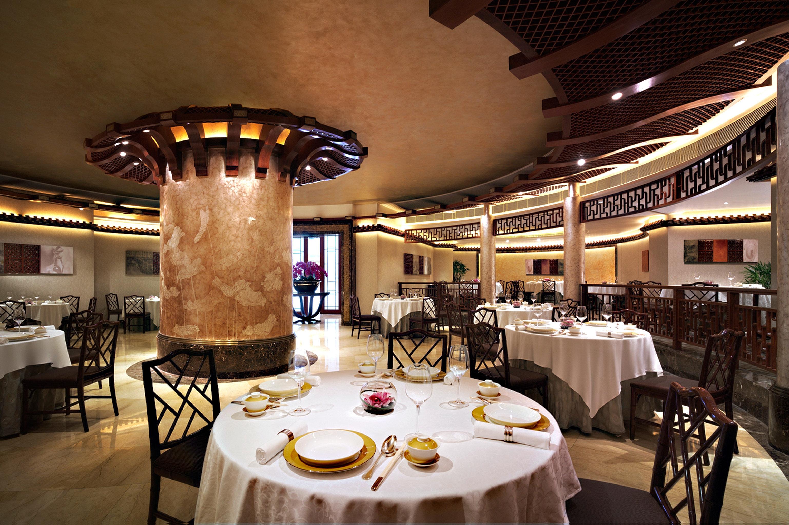 Bar City Dining Drink Eat Scenic views chair function hall restaurant ballroom wedding reception dining table