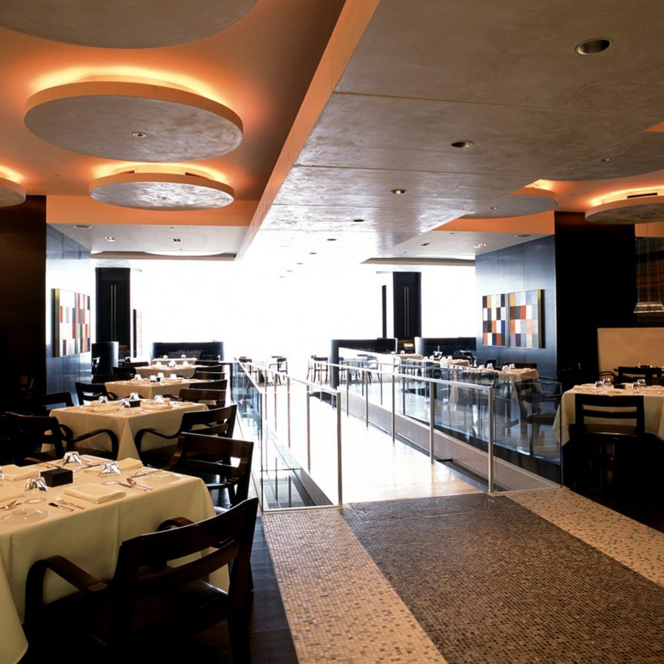 City Dining Drink Eat Modern restaurant function hall lighting café Lobby Bar conference hall Island