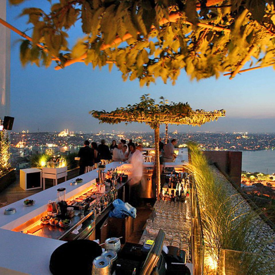 Bar City Dining Drink Eat Rooftop evening Resort