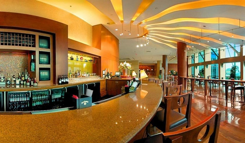 Bar City Dining Drink Eat Scenic views building Lobby restaurant Resort function hall convention center