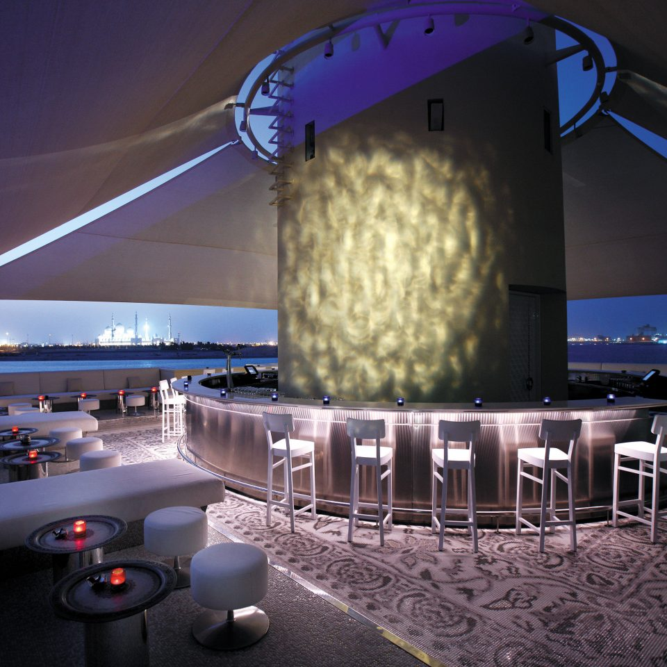 Bar City Dining Drink Eat Luxury Rooftop Scenic views light night stage lighting vehicle theatre screenshot