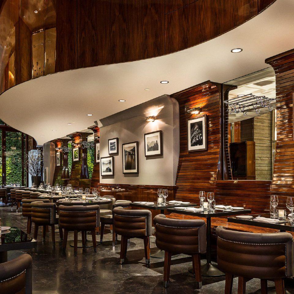 City Dining Luxury restaurant Lobby café Bar wooden coffeehouse stone