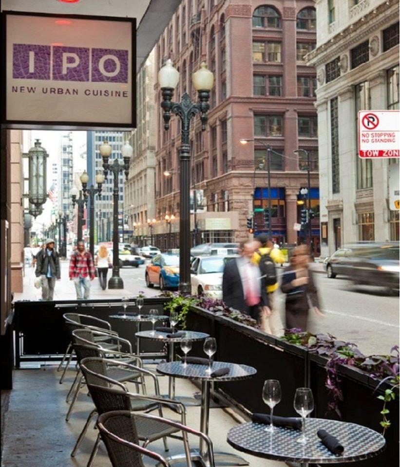building road street City neighbourhood Downtown infrastructure pedestrian restaurant shopping Bar
