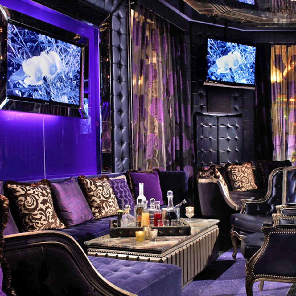 Bar City Drink Entertainment Nightlife Resort purple nightclub living room