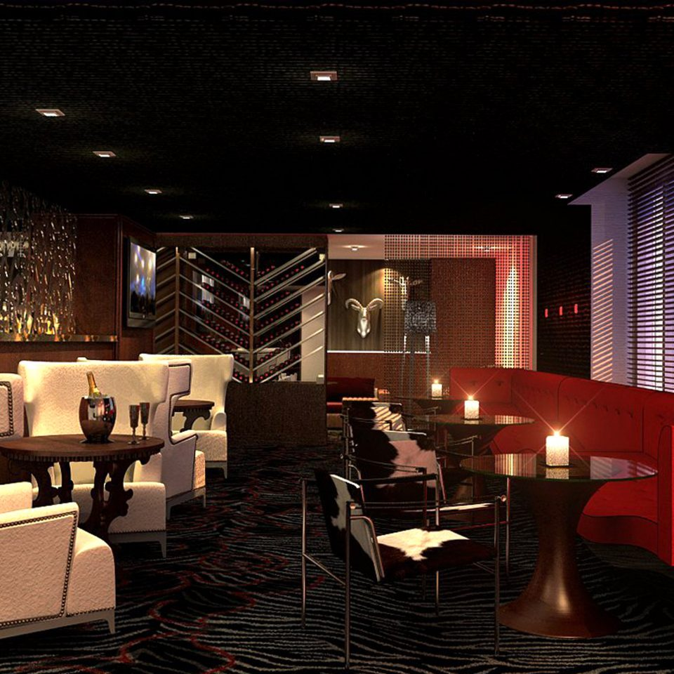 Bar City Drink Modern Lobby lighting living room theatre night