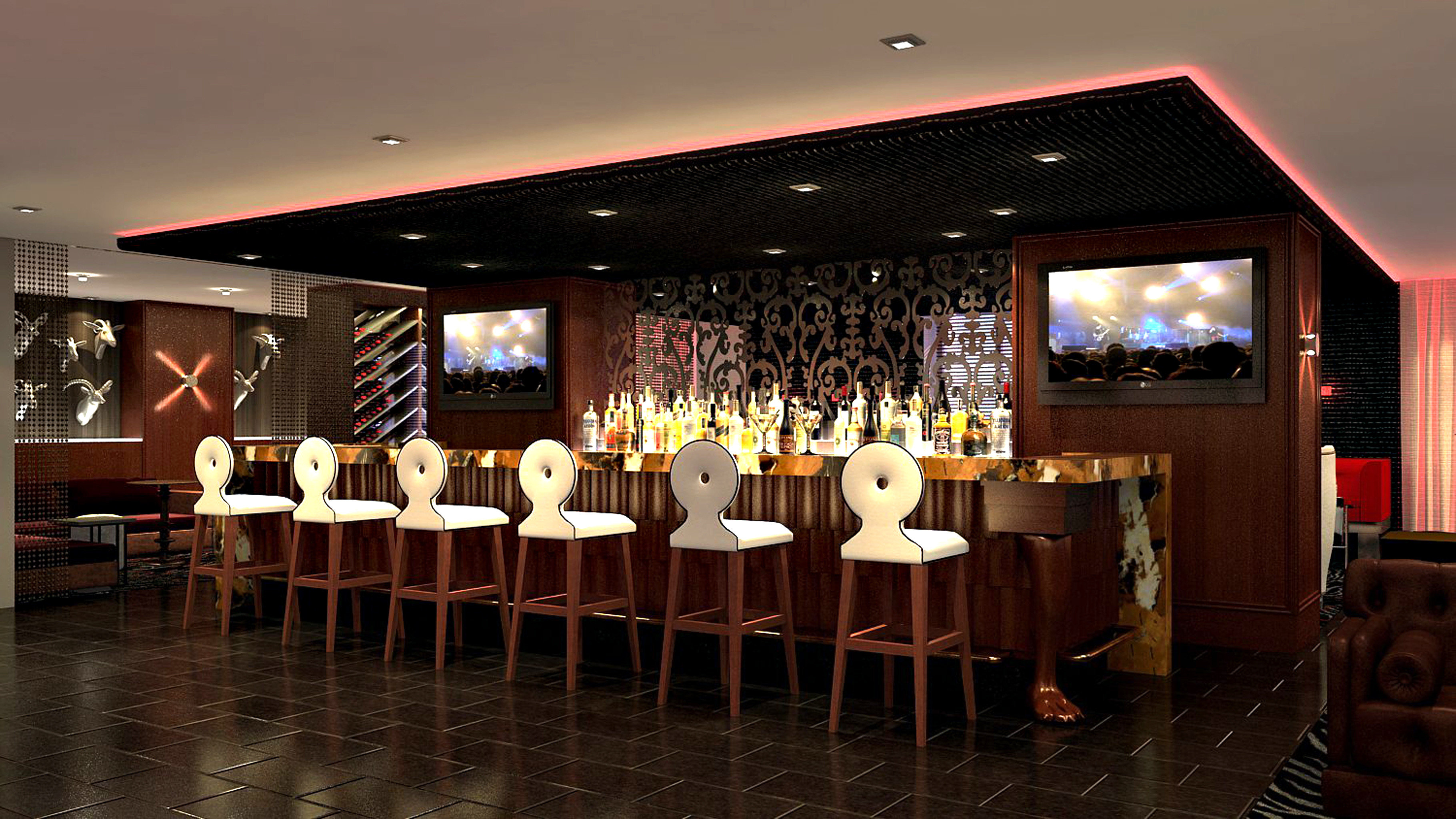 Bar City Drink Modern restaurant function hall ballroom