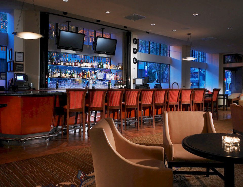 Bar City Family chair conference hall function hall auditorium restaurant convention center