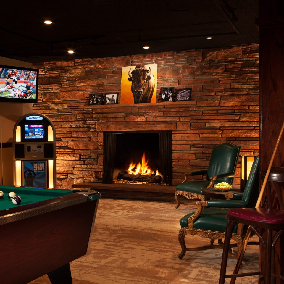 City Family Fireplace Lounge recreation room billiard room screenshot Bar poolroom