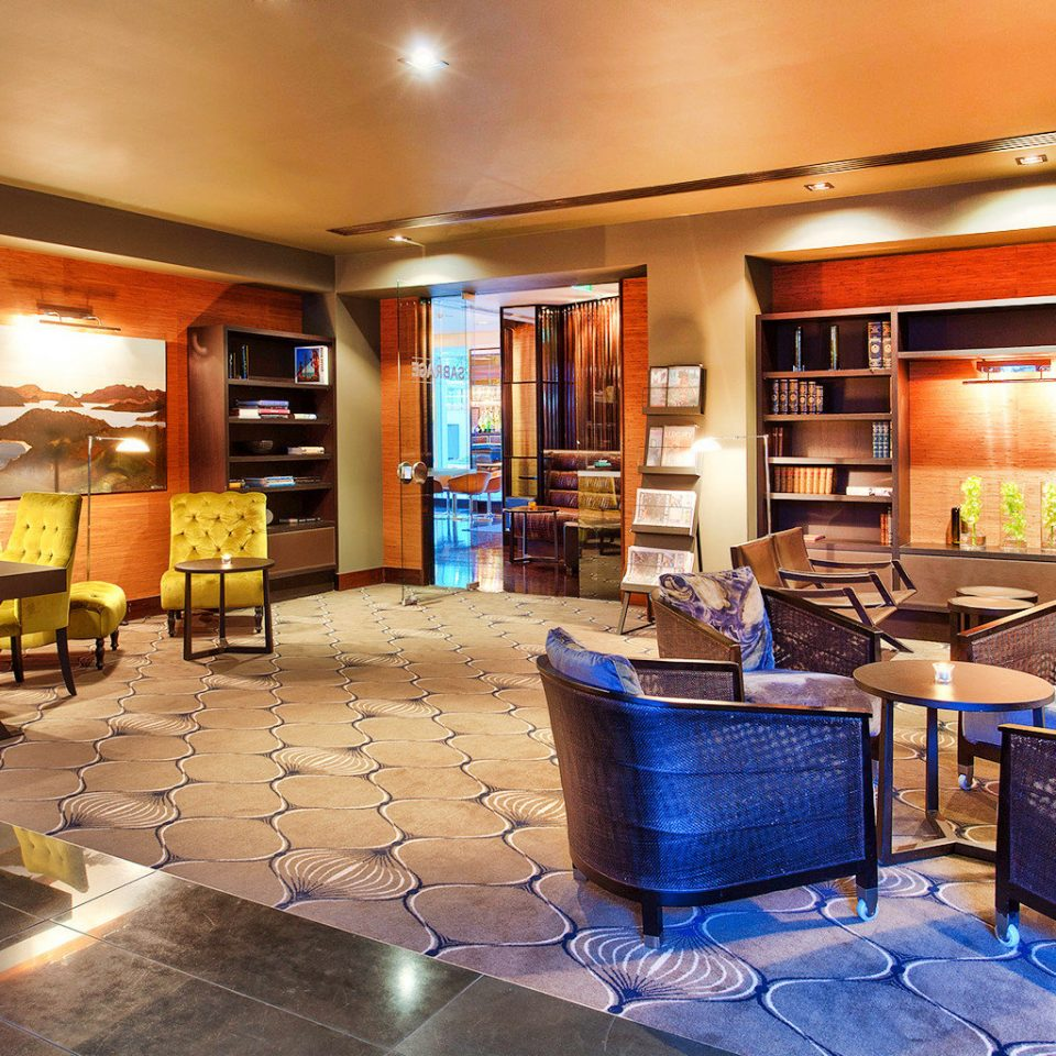 City Lobby Lounge Modern property recreation room Bar restaurant café condominium