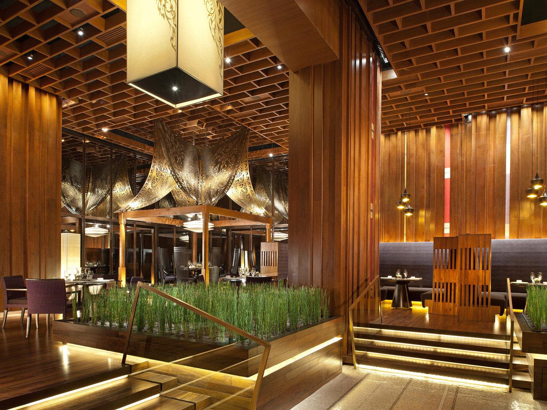 Bar City Lobby Modern Resort function hall lighting restaurant convention center